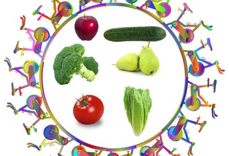 Alimentación saludable y deporte van de la mano